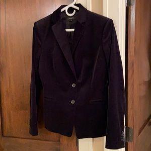 Ann Taylor black velvet blazer size 8